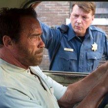 Contagious: Arnold Schwarzenegger in un momento del film