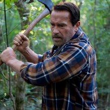 Contagious: Arnold Schwarzenegger in una scena del film