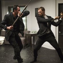 The Transporter Legacy: Ed Skrein in azione in una scena del film
