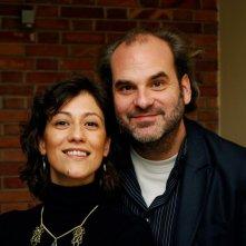 Bota cafè: i registi del film Iris Elezi e Thomas Logoreci in una foto promozionale