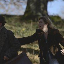 Violette: Emmanuelle Devos con Olivier Py in una scena del film drammatico
