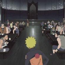 Naruto - Il film: La prigione insanguinata, Naruto con gli altri detenuti in una scena del film