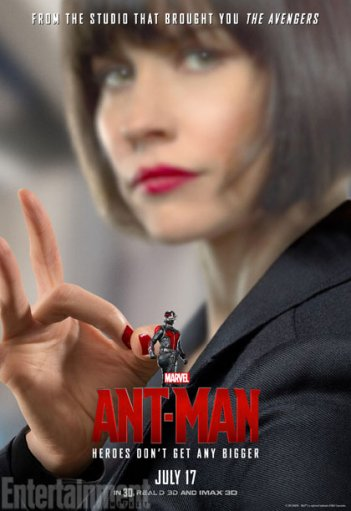 Ant-Man: il character poster di Evangeline Lily