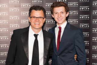 Tom Holland e suo padre Dominic Holland