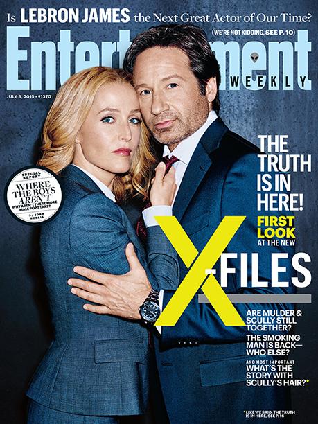 X-Files: la copertina di Entertainment Weekly dedicata allo show