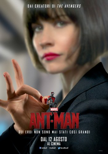 Ant-Man: Evangeline Lilly nel character poster italiano di Hope Van Dyne