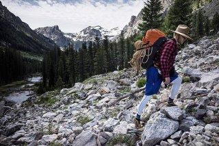 Jared Leto fa trekking in un parco naturale