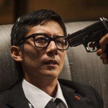Everly: Akie Kotabe in una drammatica scena del film di Joe Lynch