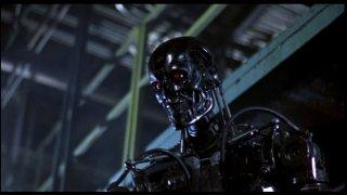 Terminator - una scena del film di James Cameron