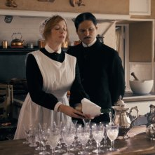 Another Period: Christina Hendricks e Michael Ian Black in una foto tratta dagli episodi della comedy
