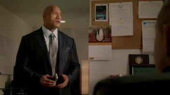 Ballers: Dwayne Johnson in una scena della serie