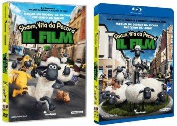 Le cover homevideo di Shaun, Vita da Pecora - Il film