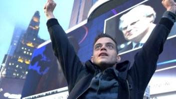 Mr. Robot: l'attore Rami Malek interpreta Elliot