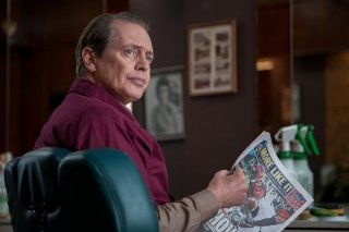 The Cobbler: Steve Buscemi in una scena del film