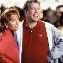 I colori della vittoria: una scena del film con Emma Thompson e John Travolta