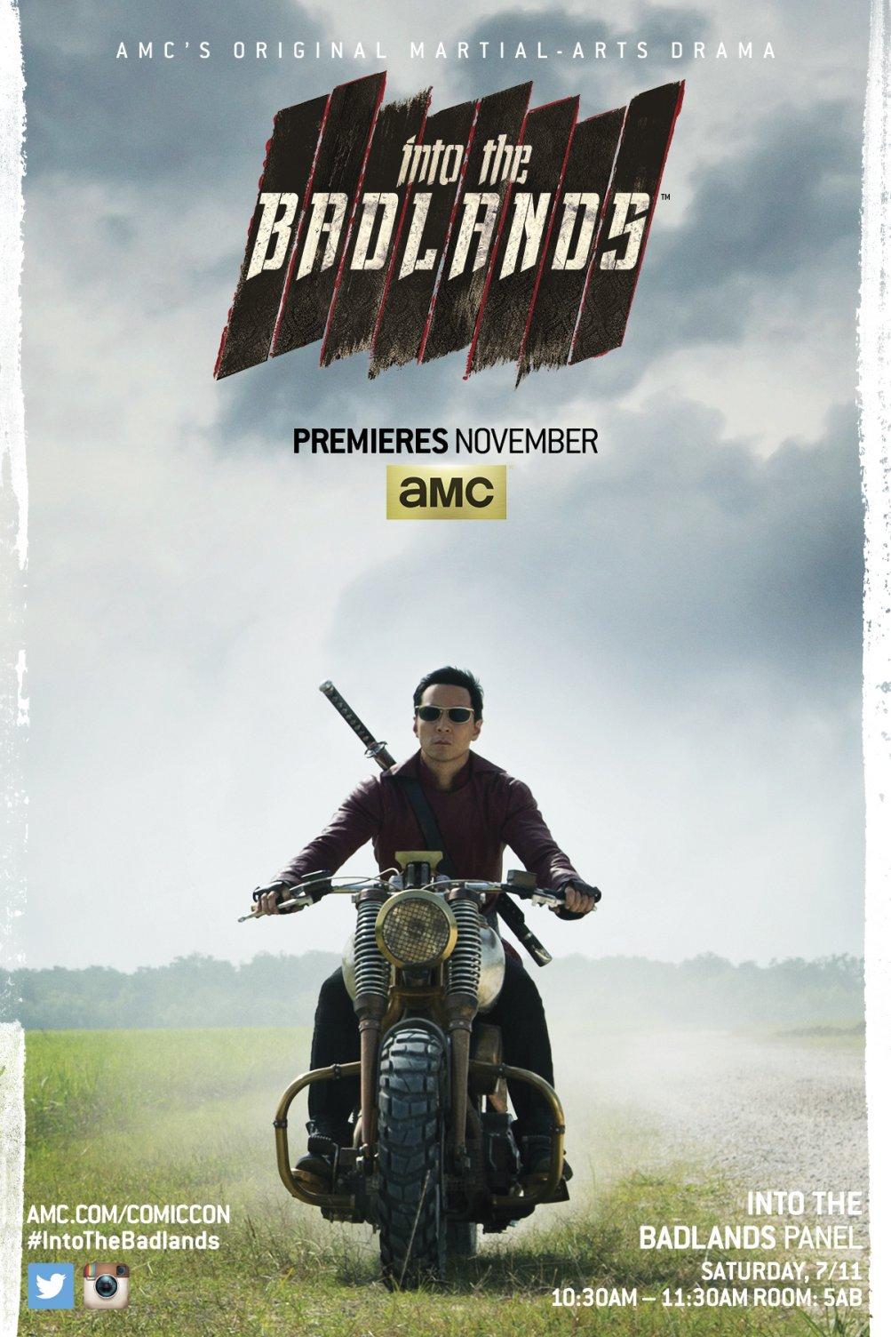 Into the Badlands: il poster realizzato per il Comic-Con di San Diego