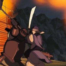 Naruto - Il film: La Leggenda della Pietra Gelel, una scena