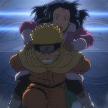 Naruto - Il film: La primavera nel paese della neve, un'immagine del film animato