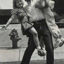 Spielberg con le due protagoniste di E.T. e Poltergeist!