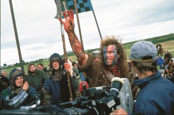 #100AnniFox: Mel Gibson in una foto scattata sul set