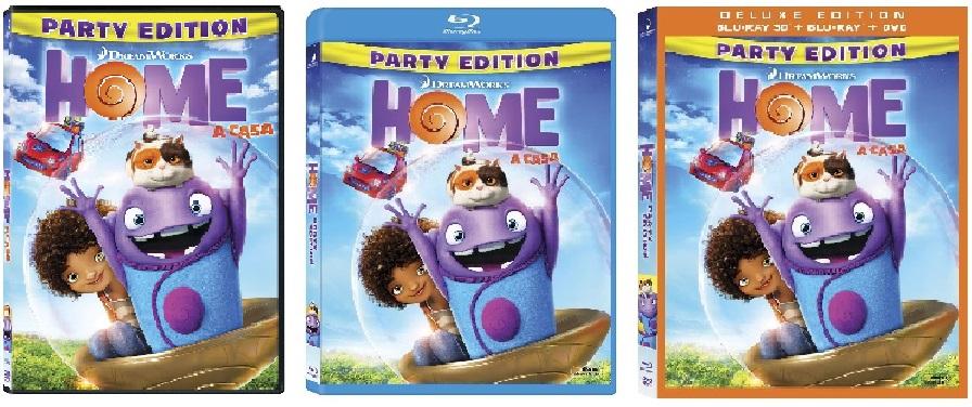 Le cover homevideo di Home - A casa