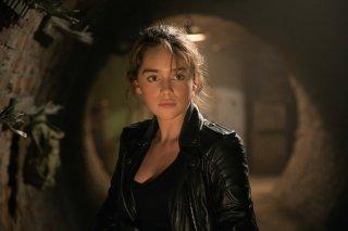 Terminator: Genisys, Emilia Clarke in un momento del film del film