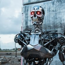 Terminator: Genisys, una suggestiva immagine tratta dal film diretto da Alan Taylor