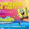 SpongeBob Live Party al cinema il 31 ottobre e l'1 novembre