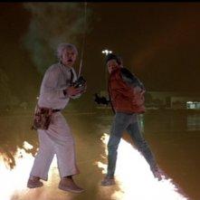 Ritorno al futuro: Michael J. Fox con Christopher Lloyd