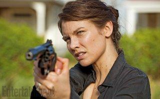 The Walking Dead: Lauren Cohan in un'immagine della sesta stagione