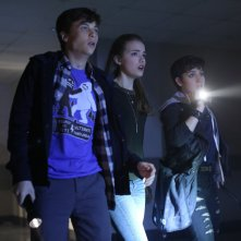 Scream: John Karna, Willa Fitzgerald e Bex Taylor-Klaus in Red Roses