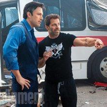 Batman v Superman: Dawn of Justice - Ben Affleck e Zack Snyder sul set