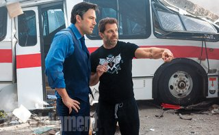 Batman v Superman: Dawn of Justice - Ben Affleck e Zack Snyder sul set