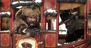 The Hateful Eight: Kurt Russell e Samuel L. Jackson sulla diligenza