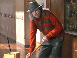 Scream: il regista Wes Craven in un cameo