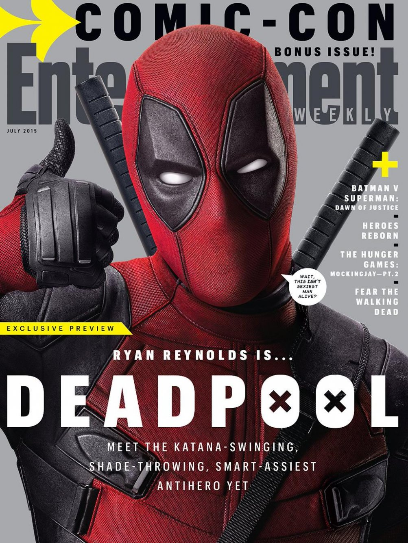 Deadpool: Ryan Reynolds sulla copertina di Entertainment Weekly