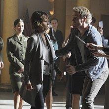 Extant: la protagonista Halle Berry in una foto tratta dall'episodio Change Scenario
