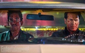 Ash vs. Evil Dead: Ray Santiago e Bruce Campbell insaguinati