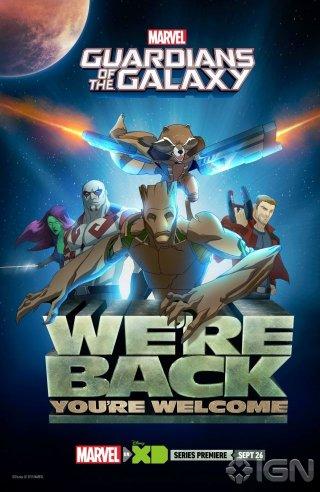 Guarfians of the Galaxy: il San Diego Comic-Con poster della serie tv animata