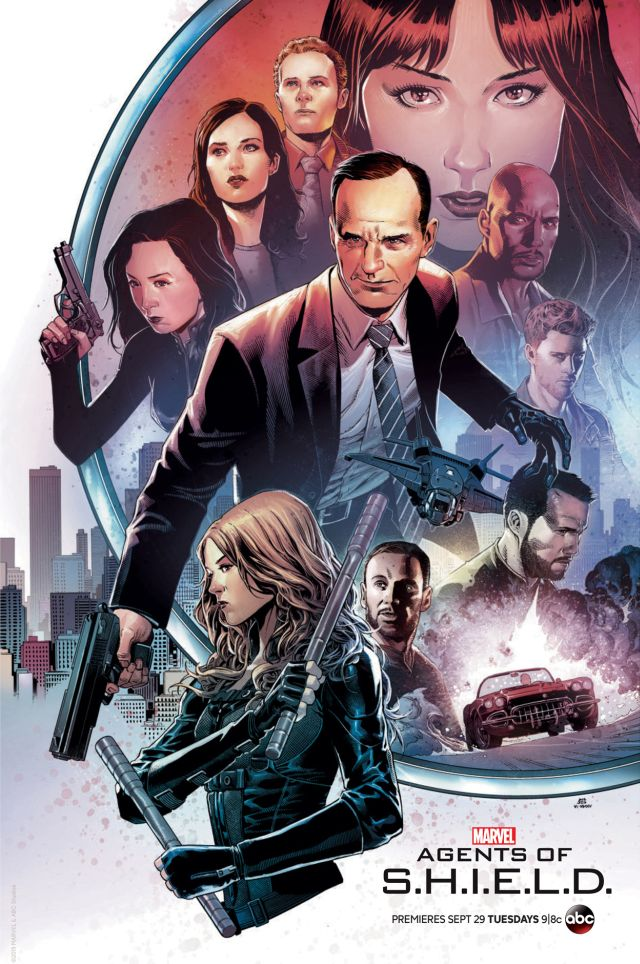 Agents of S.H.I.E.L.D.: Il San Diego Comic-Con poster