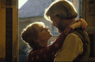 I cancelli del cielo: una romantica immagine di Isabelle Huppert e Kris Kristofferson