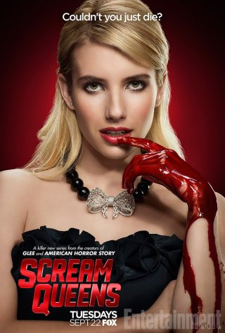 Scream Queens: il character poster di Emma Roberts