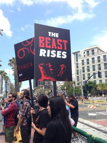Damien: l'originale campagna promozionale al Comic-Con