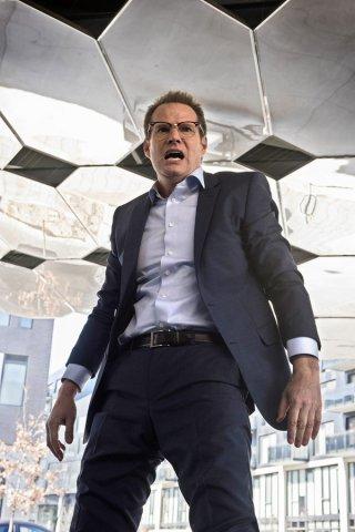 Heroes Reborn: Jack Coleman in un momento concitato