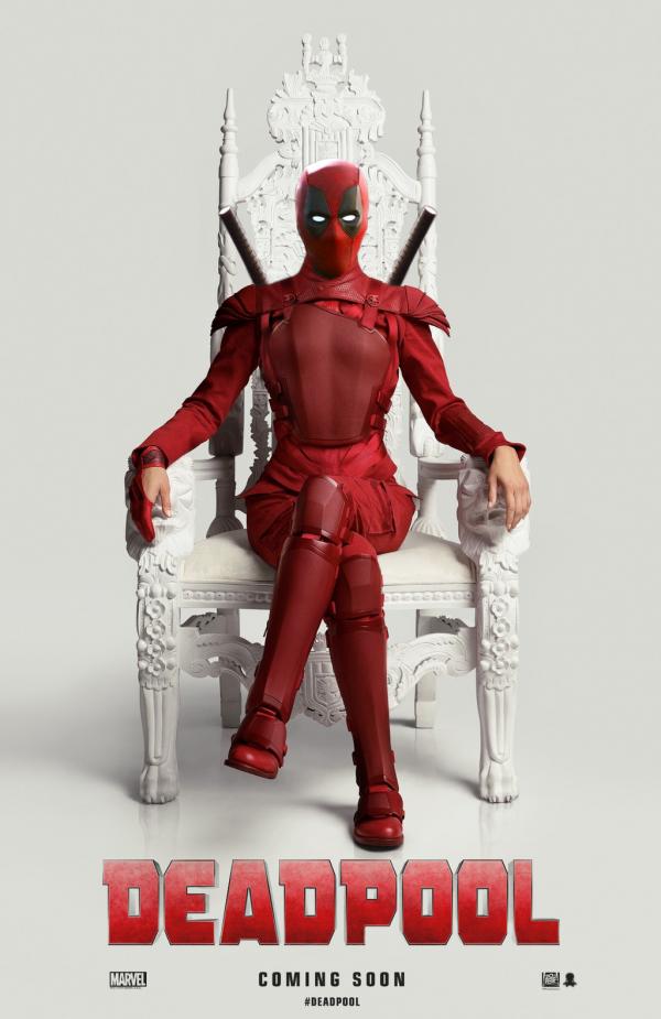 Deadpool - il poster parodia di Hunger Games