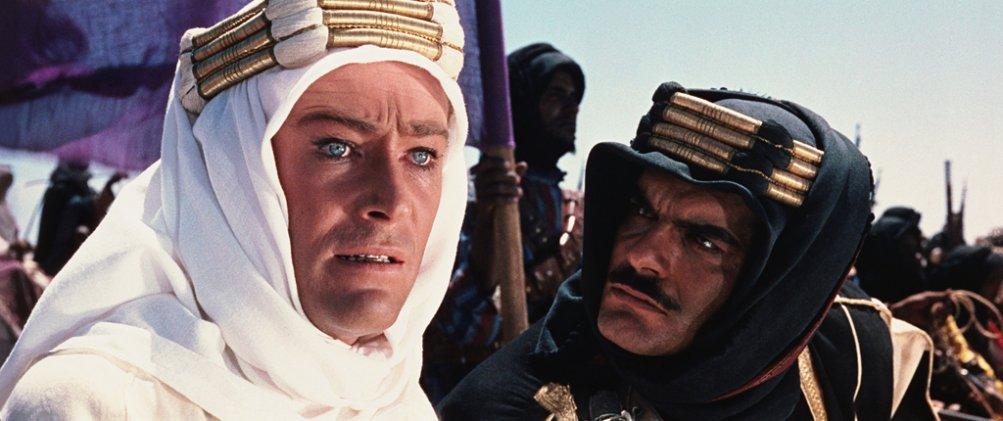 Lawrence D'Arabia: Omar Sharif con Peter O'Toole
