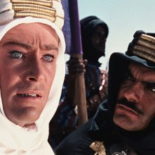 Lawrence D'Arabia: Omar Sharif con Peter O'Toole