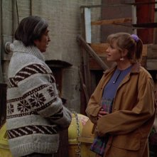 Un medico fra gli orsi: Cynthia Geary in una scena del film