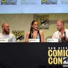 Paula Patton, Travis Fimmel e Ben Foster presentano Warcraft al Comic Con