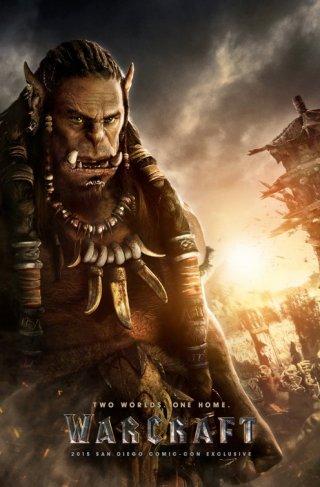 Warcraft: una mostruosa creatura nel poster del film